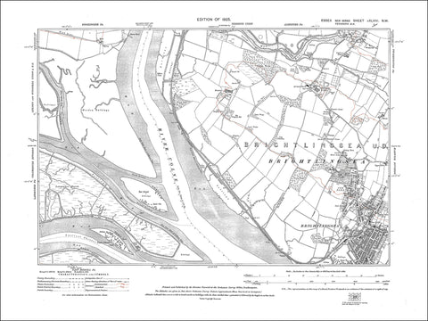 Brightlingsea (W), Essex 1925 - 2.2 MB PDF file