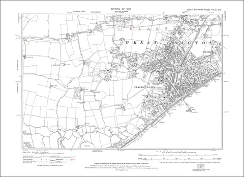 Clacton on Sea, Great Clacton, Essex 1925 - 1.7 MB PDF file