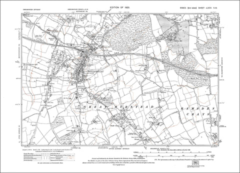 Billericay, South Green, Essex 1923 - 2.2 MB PDF file
