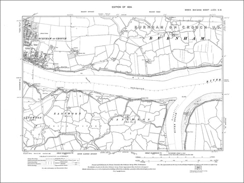 Burnham on Crouch (E), Essex 1924 - 1.5 MB PDF file