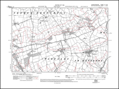 Ab Kettleby, Wartnaby, Broughton Hill, Leicestershire 1921 PDF file