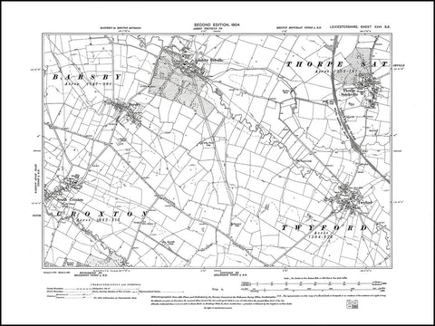 Ashby Folville, Thorpe Satchville, Twyford, South Croxton (E), Leicestershire 1904 PDF file