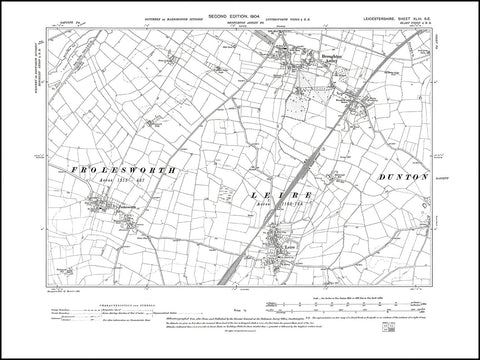 Broughton Astley, Frolesworth, Leire, Leicestershire 1904 PDF file