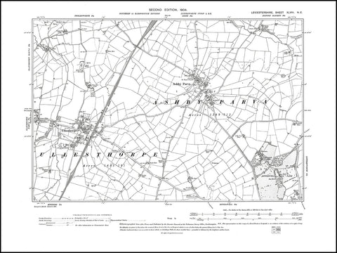 Ashby Parva, Ullesthorpe, Leicestershire 1904 PDF file