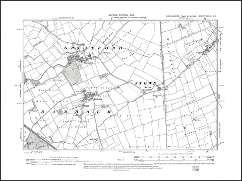 Barholm, Greatford, Langtoft (W), Lincolnshire 1905, PDF file