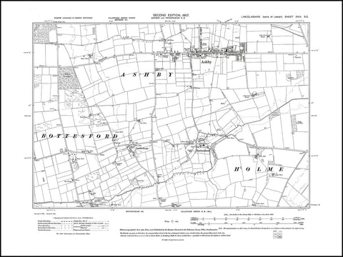Ashby, Bottesford, Yaddlethorpe, Lincolnshire 1907, PDF file