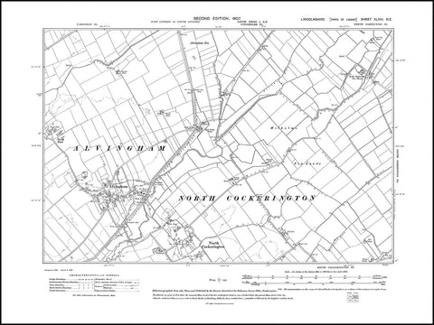 Alvingham, North Cockerington (N), Lincolnshire 1907, PDF file