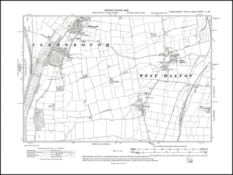 Alkborough, West Halton, Lincolnshire 1908 PDF file