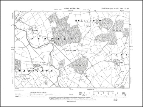 Apley, Barlings, Newball, Bullington, Lincolnshire 1907, PDF file