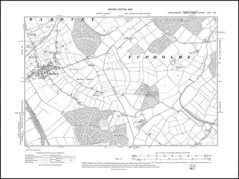 Bardney, Lincolnshire 1907, PDF file