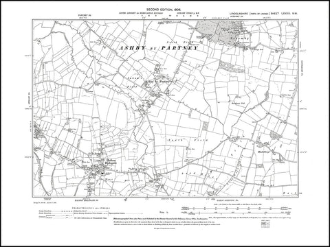 Ashby by Partney, Halton Holegate, Scremby, Monksthorpe, Spilsby (E), Lincolnshire 1906, PDF file