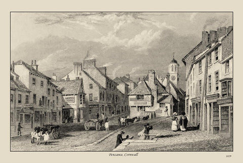 Cornwall in 1829 - 32 beautiful old pictures - 14.2 MB PDF file