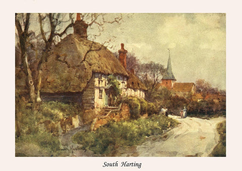 Sussex in 1906 - 75 vibrant watercolours by Wilfred Ball - 44.6 MB PDF file