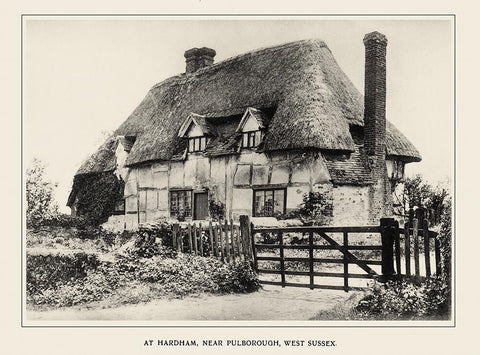 Sussex Cottages in 1900 - 52 fascinating old photographs - 26.8 MB PDF file