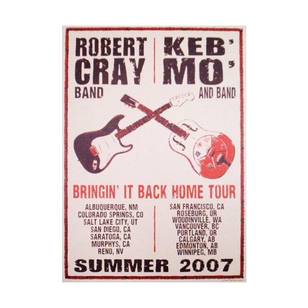 Bringin' It Back Home 2007 Tour Poster
