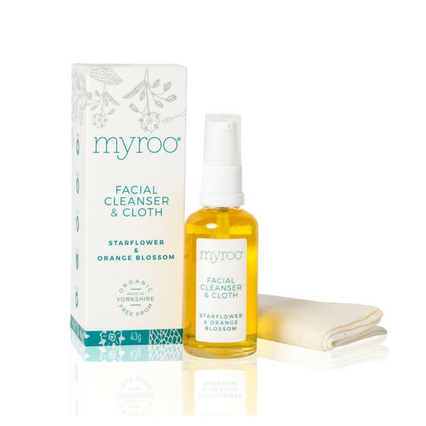 Myroo natural organic face cleanser for sensitive skin