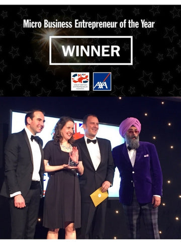 Myroo wins Micro Business Entrepreneur of the Year Award at the Great British Entrepreneur Awards