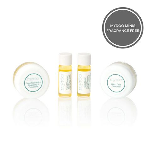 Myroo Mini - Trial Size Skincare Set - Fragrance Free