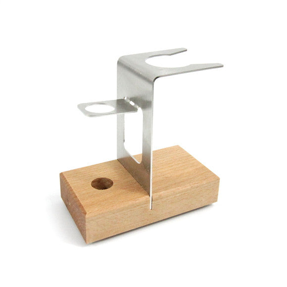 Safety Razor and Shaving Brush Stand