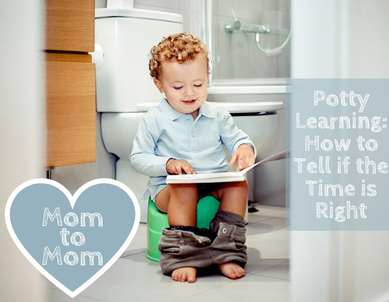 Potty Learning: How to Tell if the Time is Right