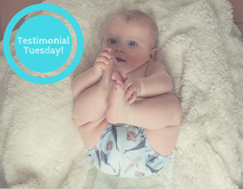Testimonial Tuesday - Mother ease Makes Cloth Diapering a Breeze!
