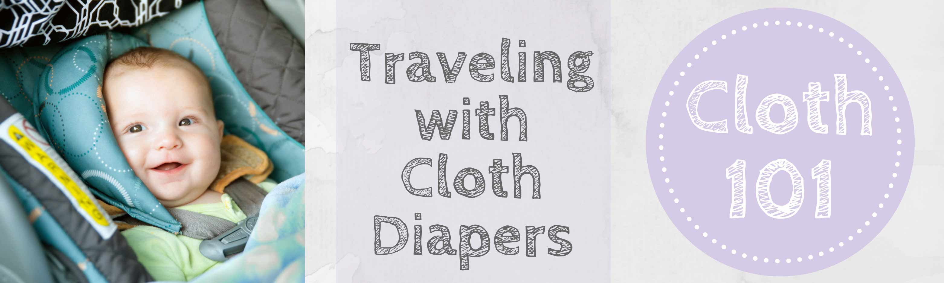 Mother ease Blog Banner - Traveling with Cloth Diapers