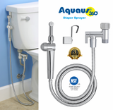 Aquaus 360 Diaper Sprayer package contents