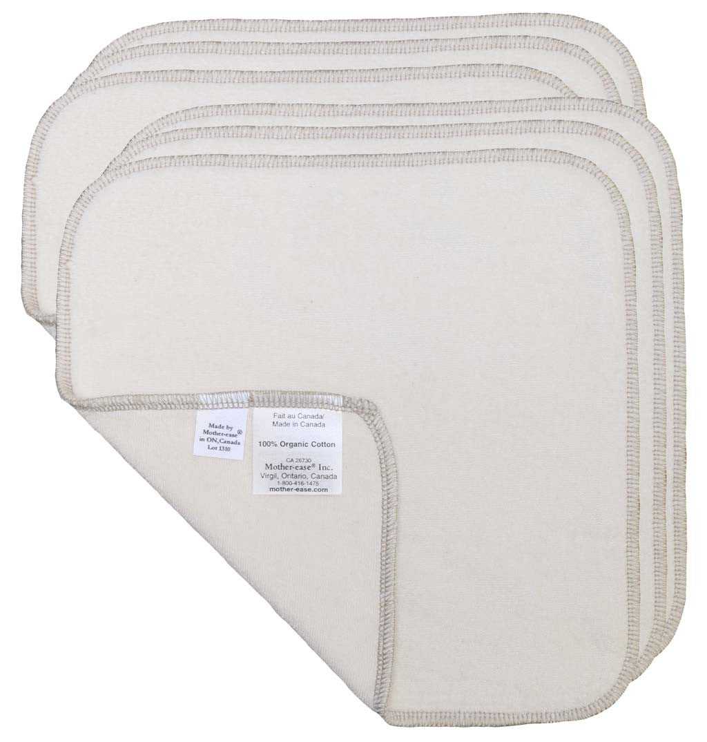 Cloth Baby Wipes - Organic Cotton