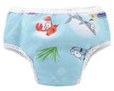 Big Kid Training Pants - Oceans front