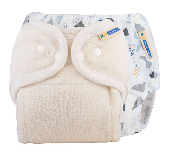 One Size Fitted Diaper Trial Package - Adventure Awaits