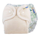 One Size Fitted Diaper Trial Package - Rainforest