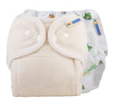 One Size Fitted Diaper Trial Package - The Wetlands