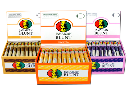 Jamaican Blunt Flavored Cigars Perforated Blunt Wrap