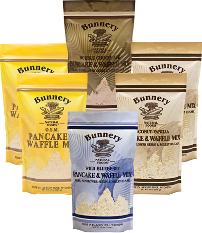 6 Bag O.S.M. Pancake & Waffle Mix Assortment