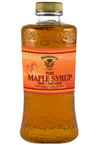 Pure Vermont Maple Syrup, Dark Amber Grade A