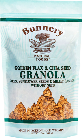 Golden Flax & Chia Seed Granola