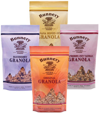 4 Bag O.S.M. Granola Assortment