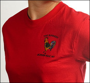 Bunnery Rooster Red T-Shirt