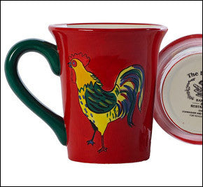 Bunnery Rooster Mugs