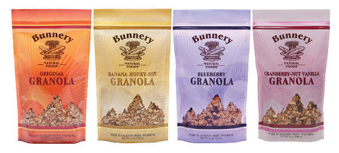 4 Pack Granola Combo Special