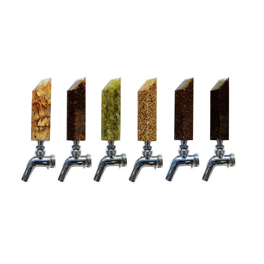"""The Complete Kegerator"" Tap Handle Set"