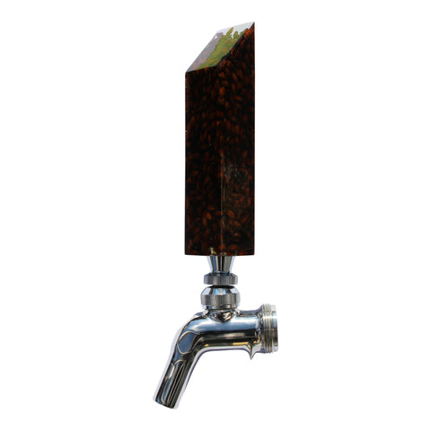 """Drink The Rainbow"" Beer Tap Handle - Dark"