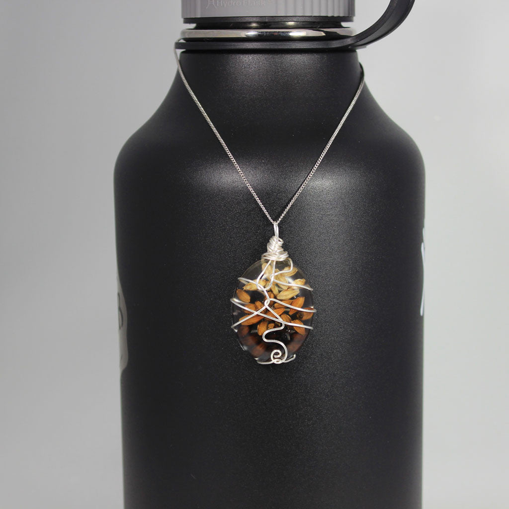 Beer Ingredient Necklace - Malt Pendant 2