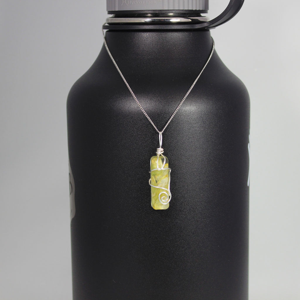 Beer Ingredient Necklace - Hops