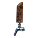 """Drink the Rainbow"" Tap Handle - Amber: Mashed In Beer Gear"