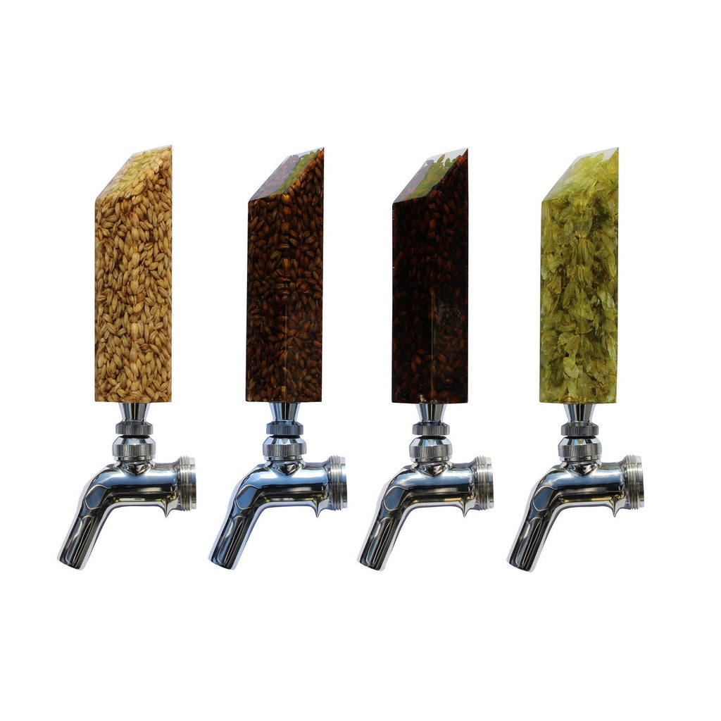 """Drink the Rainbow"" Tap Handle Set: Mashed In Beer Gear"