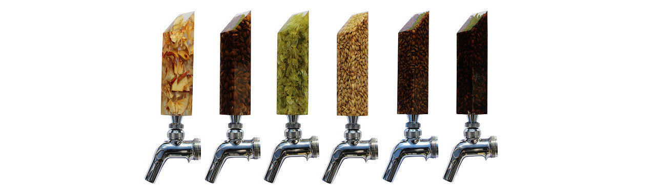 "Mashed In Beer Gear ""Drink The Rainbow"" Tap Handle Set"