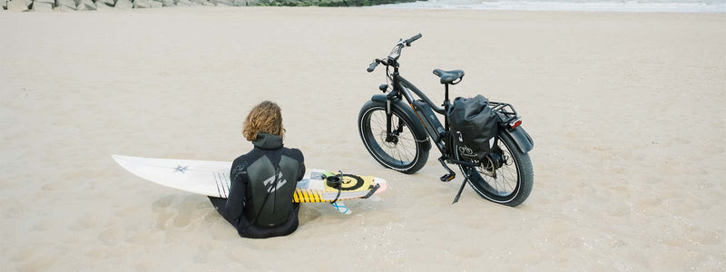 This Spring, Ride The Ebike Wave To The Beach