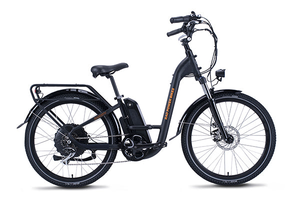A RadCity Step-Thru electric city bike