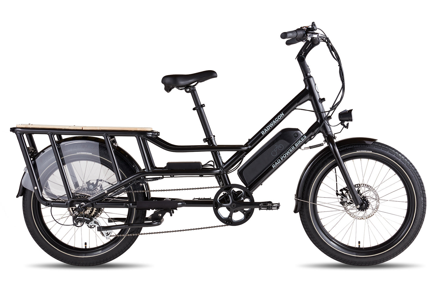 RadWagon 4 Electric Cargo Bike - Black (Limited Edition)
